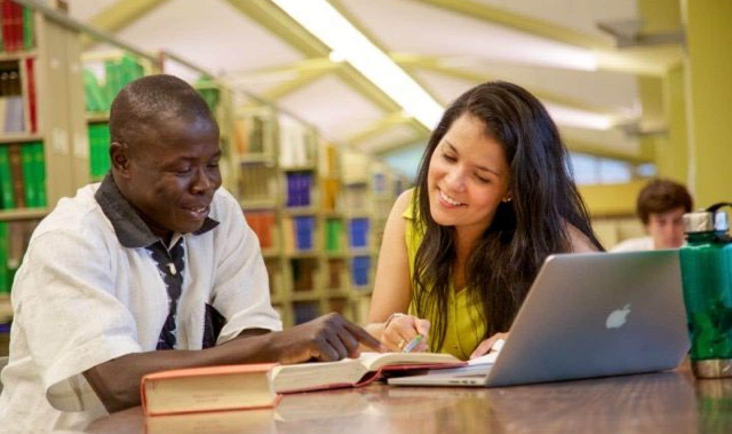 Parmi les quelque 40000 étudiants, près de 2300 provenaient de l'international l'an dernier, ainsi que de 88 pays et territoires.