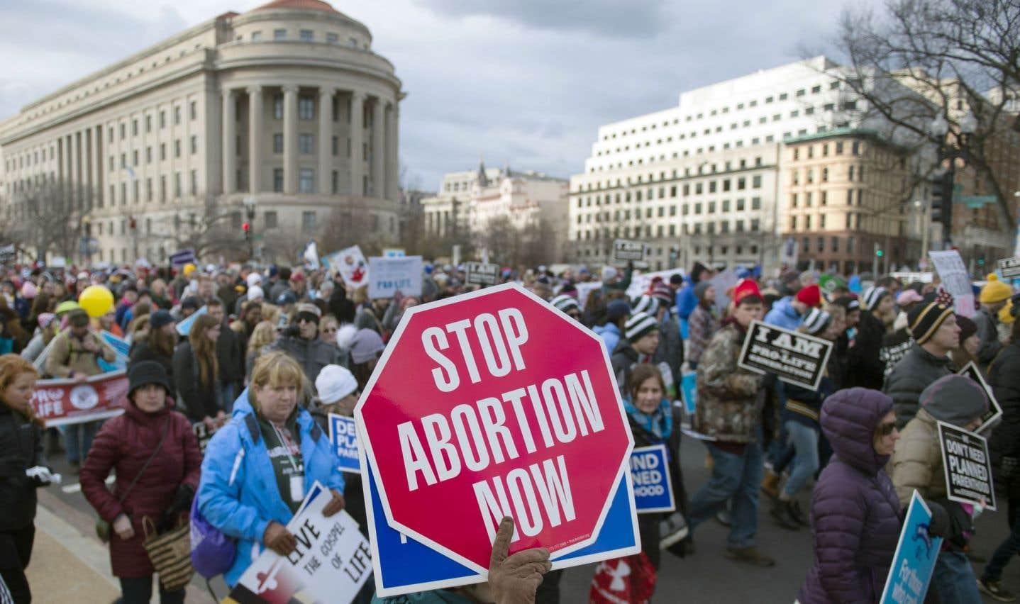 Marche «historique» des opposants américains à l'avortement