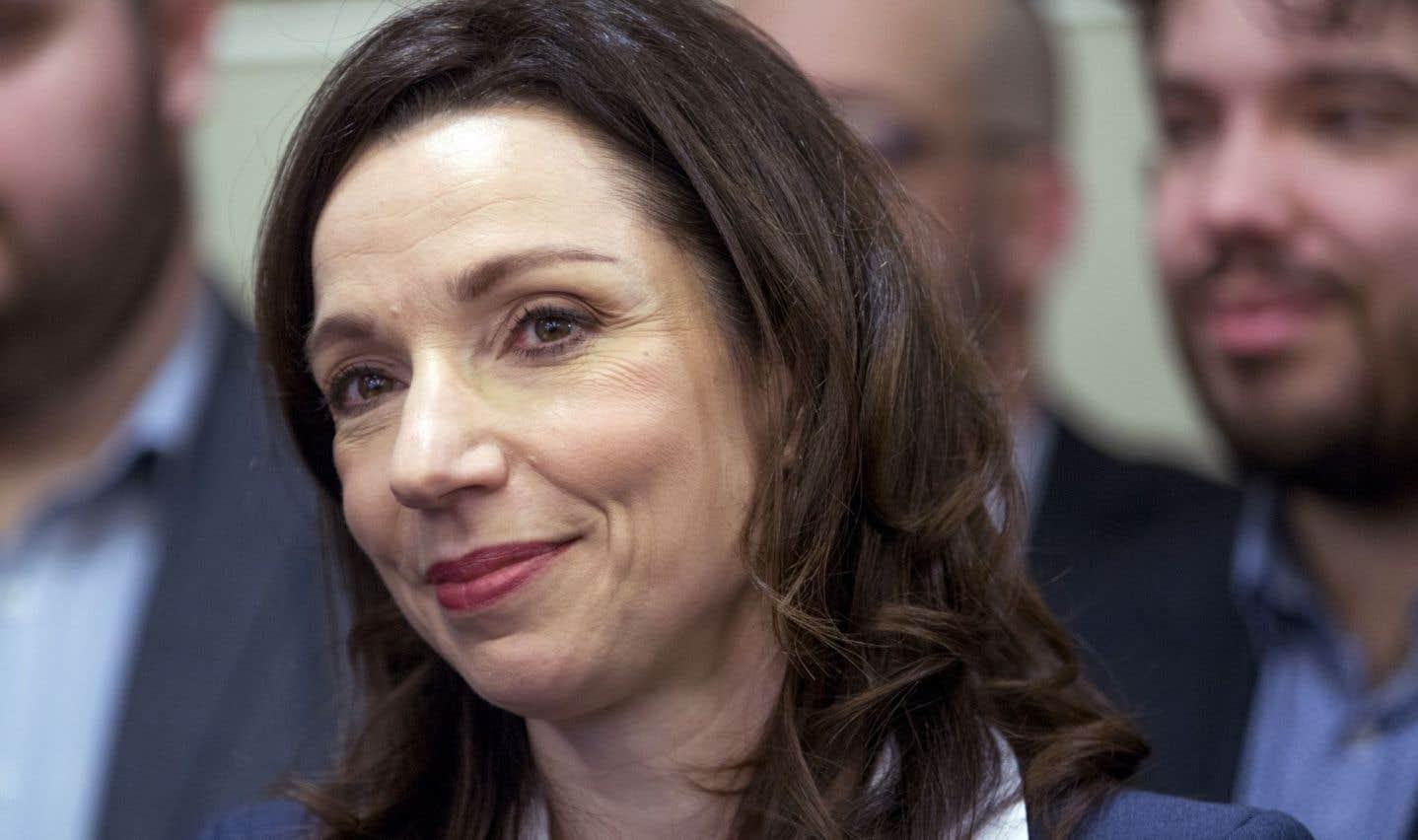 Martine Ouellet se lance dans la course à la direction du Bloc québécois