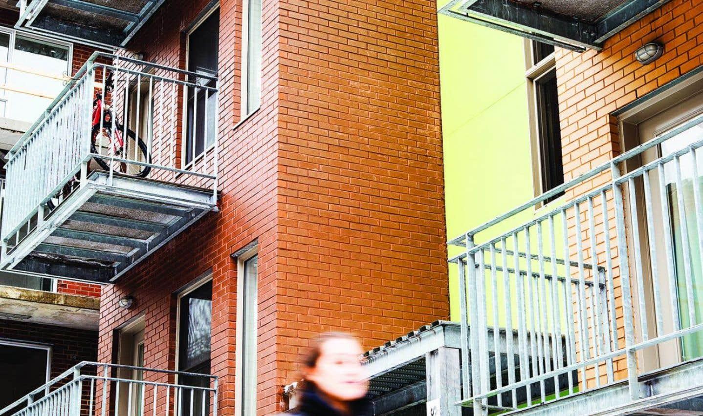 Les studios du Sac à dos offrent un logement à 15 personnes.