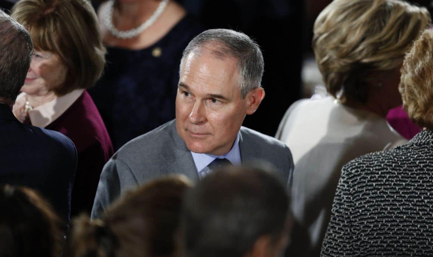 Un climato-négationniste chargé de protéger l'environnement