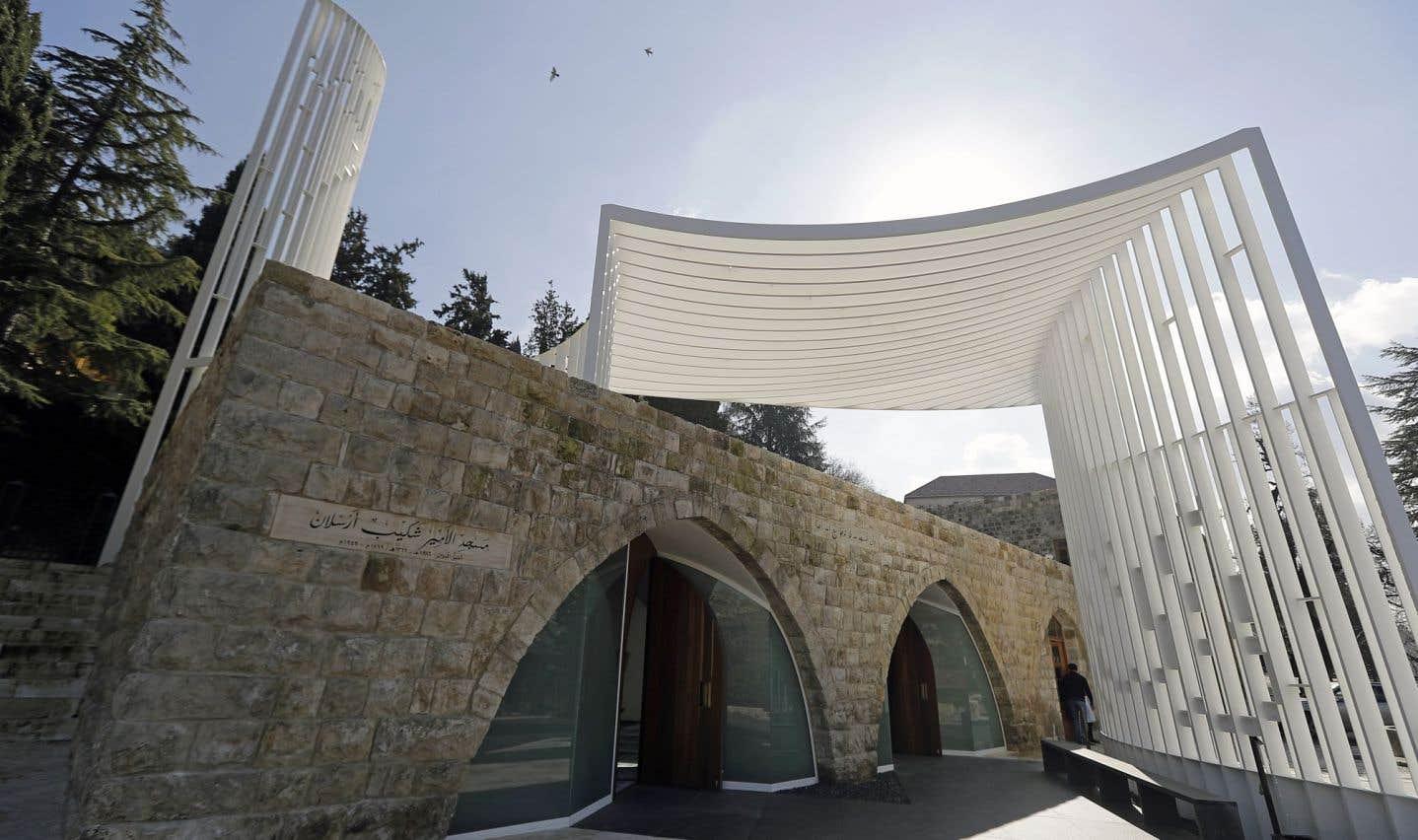 Une mosquée d'avant-garde en pays druze