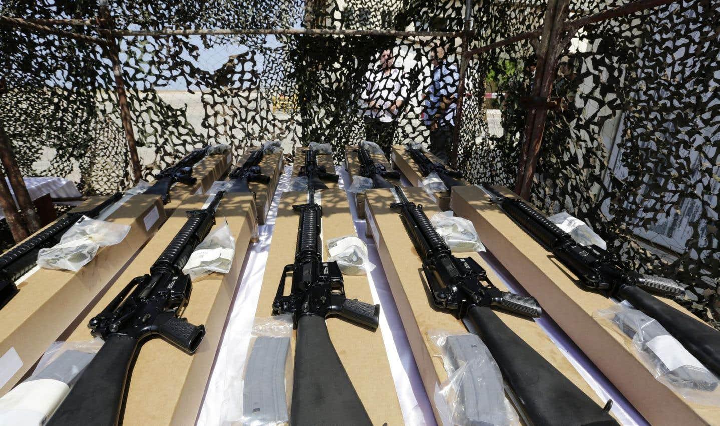 Les transferts mondiaux d'armements sur les cinq années sous revue ont atteint un niveau record depuis 1950.