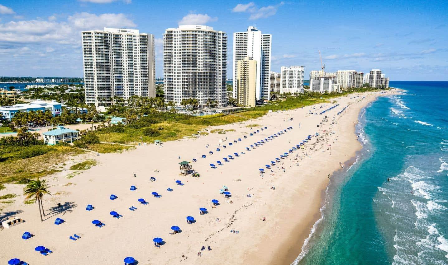 Singer Island est une longue bande de terre dans le comté très chic de Palm Beach.