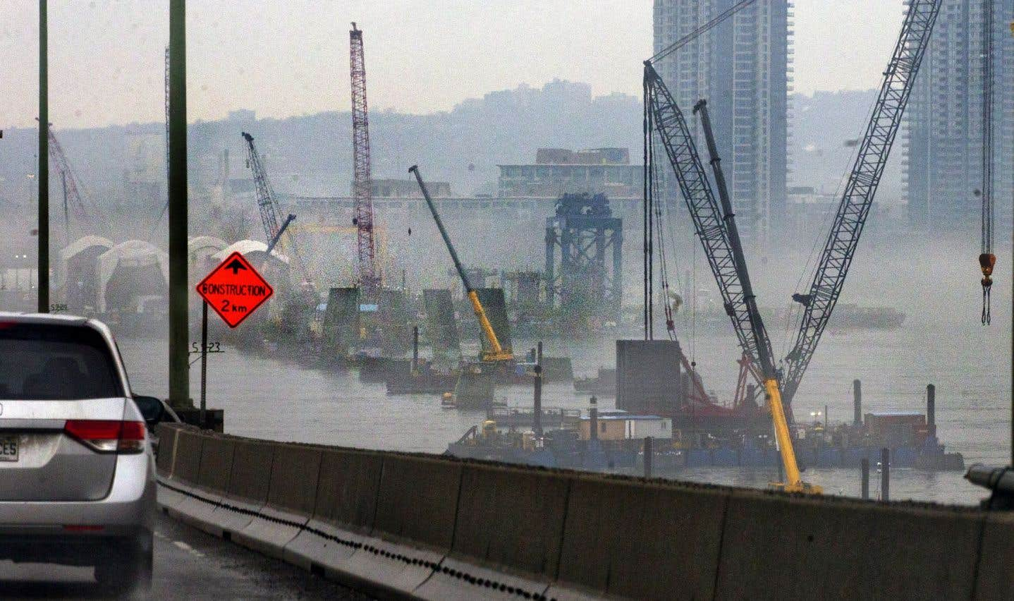 L'échéancier de construction du pont Champlain fragilisé