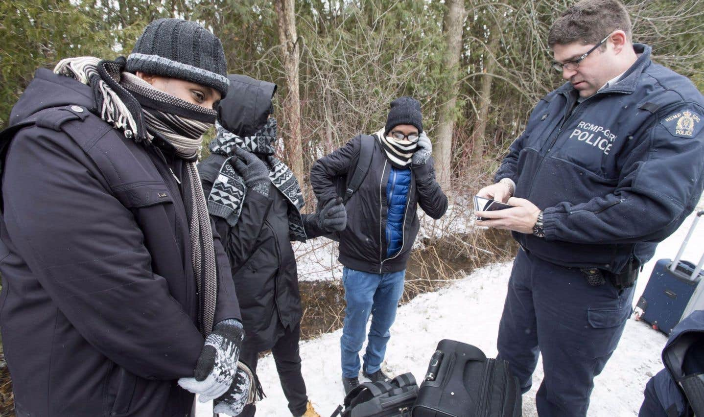 Les entrées illégales augmentent au Canada