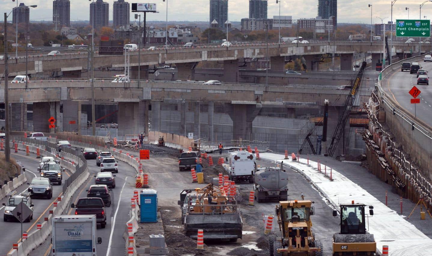 «[...] la circulation à Montréal (et même de plus en plus à Québec) est chaotique», déplore Luc-Normand Tellier.