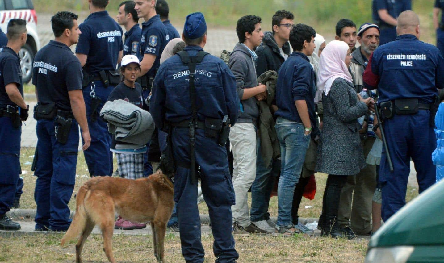 La Hongrie veut remettre les migrants en prison