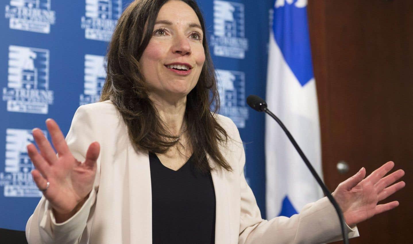 Martine Ouellet couronnée chef