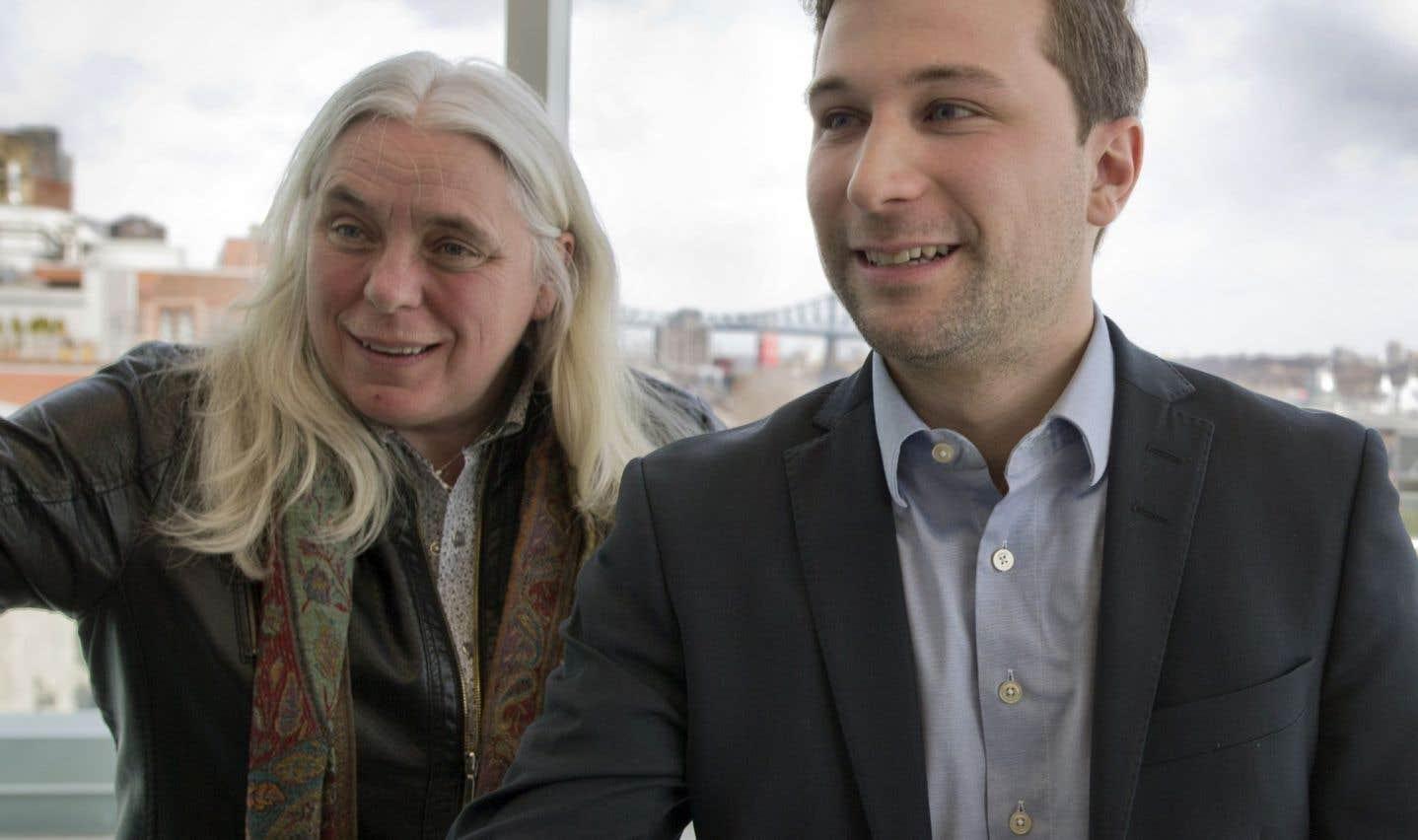 Les co-porte-parole, un léger avantage pour Québec solidaire