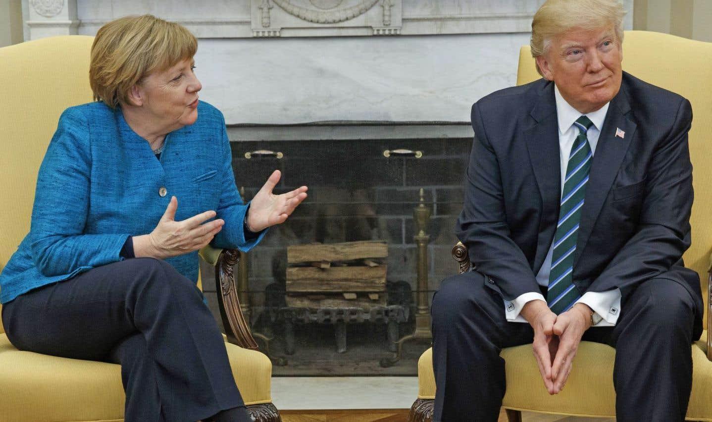 Entre Trump et Merkel, pas d'atomes crochus