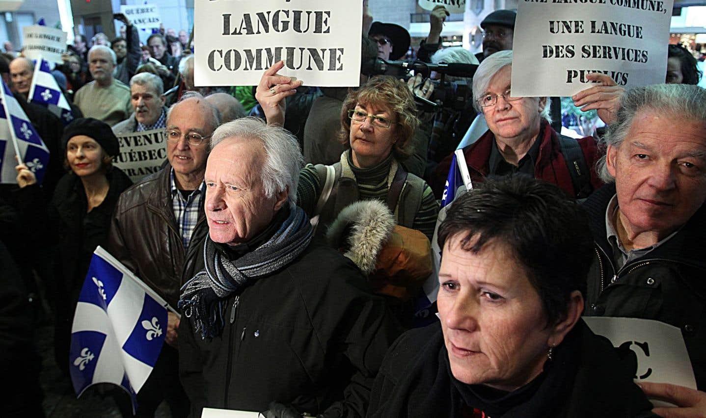 Le droit de travailler en français au Québec menacé
