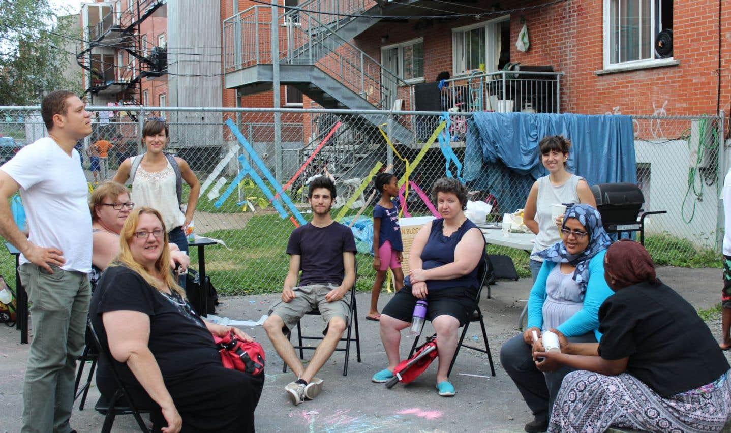 Parole d'excluEs réalise ses interventions dans Hochelaga-Maisonneuve, autour de l'ancienne biscuiterie Viau ainsi que dans Montréal-Nord, autour de l'îlot Pelletier et du secteur Nord-Est.