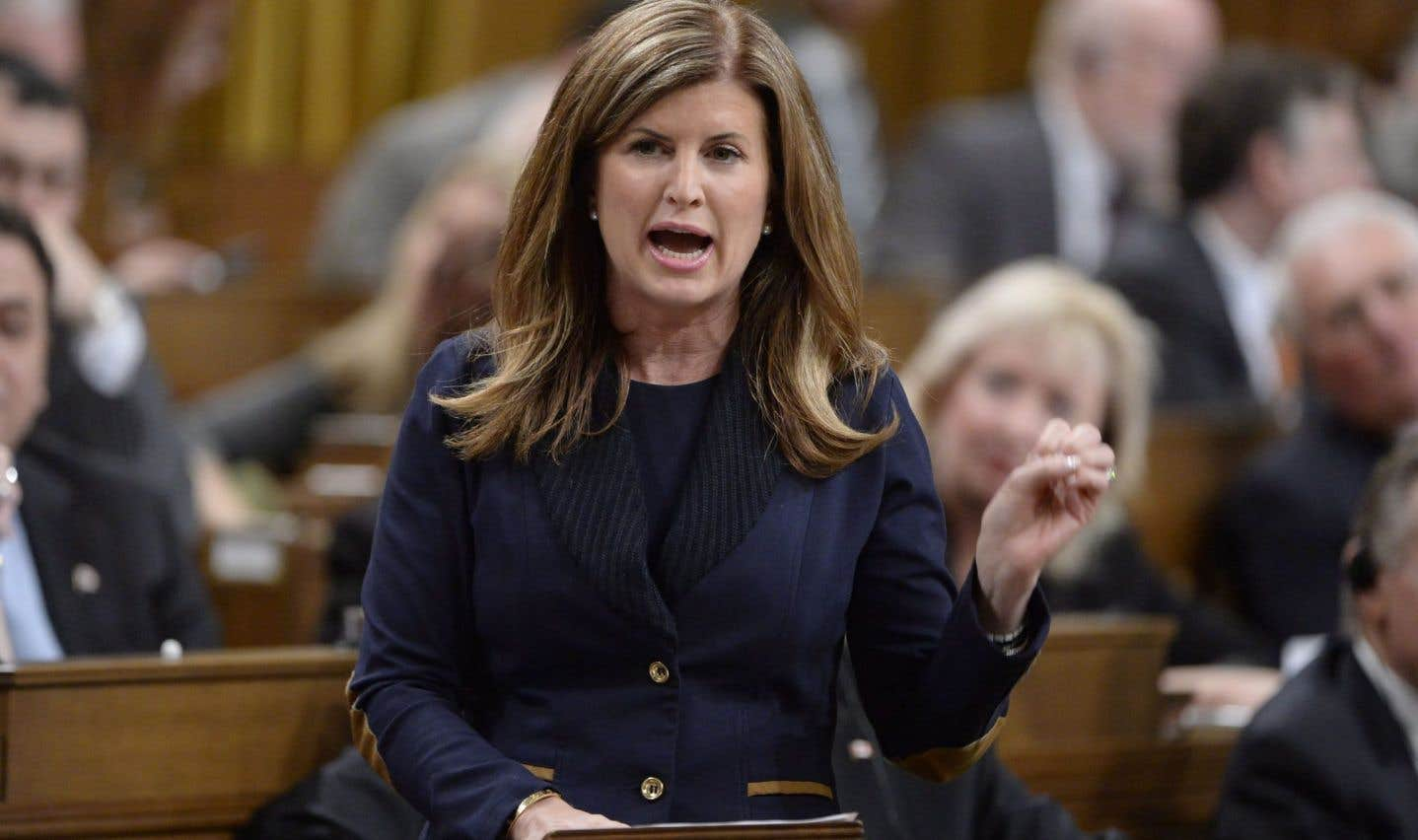 Rona Ambrose craint que le Québec bloque Énergie Est
