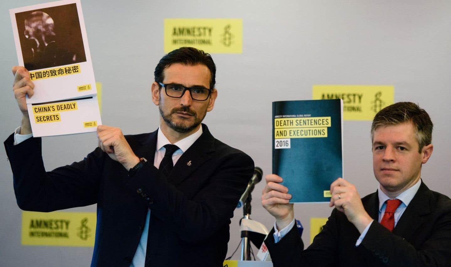 Les exécutions ont baissé de 37% dans le monde en 2016, selon Amnesty