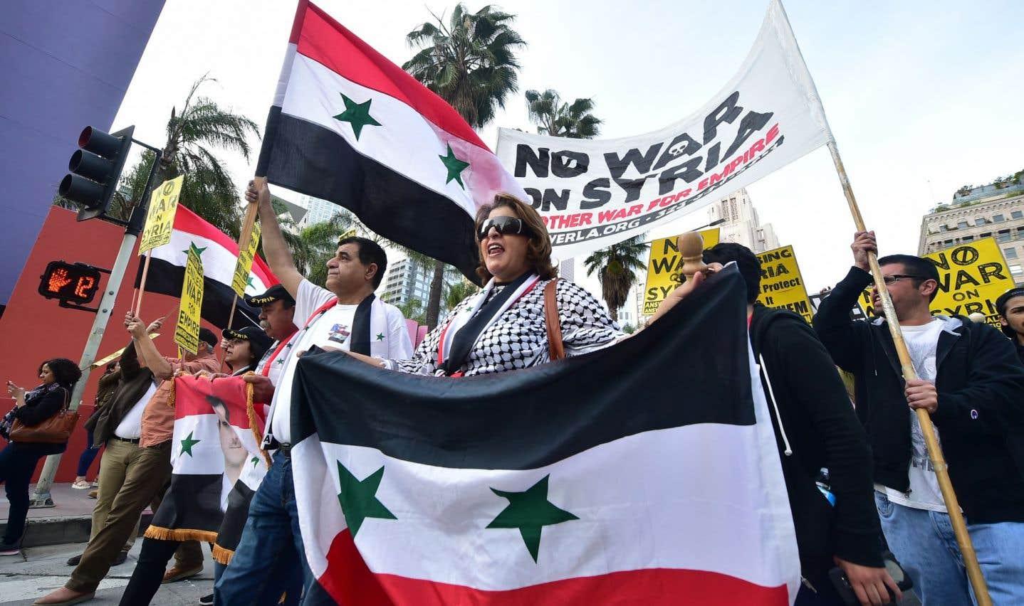 Bombardements américains en Syrie et droit international