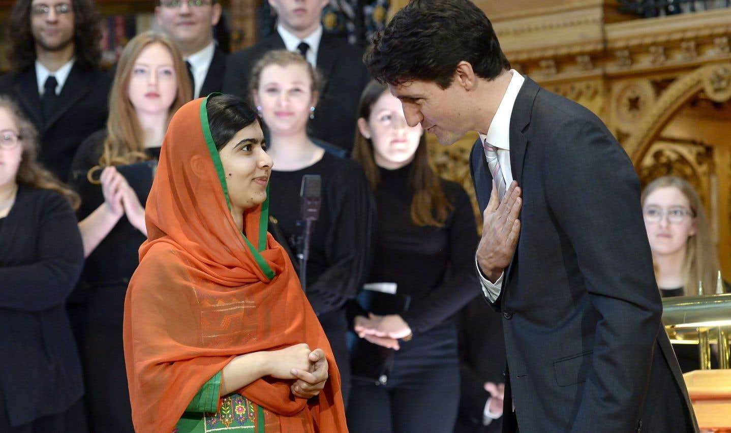 Malala Yousafzai devient citoyenne d'honneur du Canada