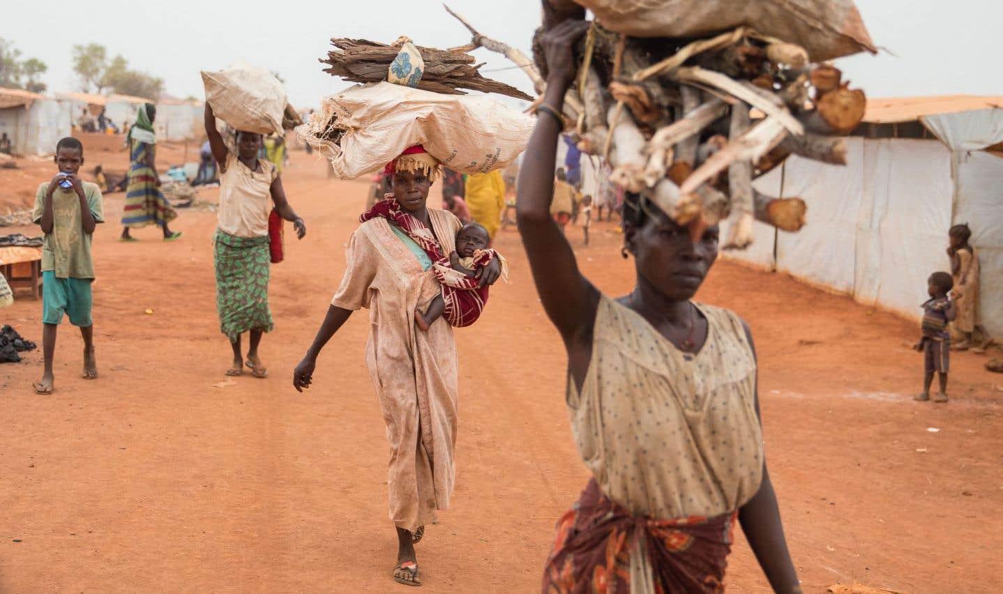 Le volet de l'aide humanitaire internationale a véritablement pris de l'expansion durant les dernières années, entre autres au Soudan du Sud, où des milliers de personnes risquent de mourir de faim.