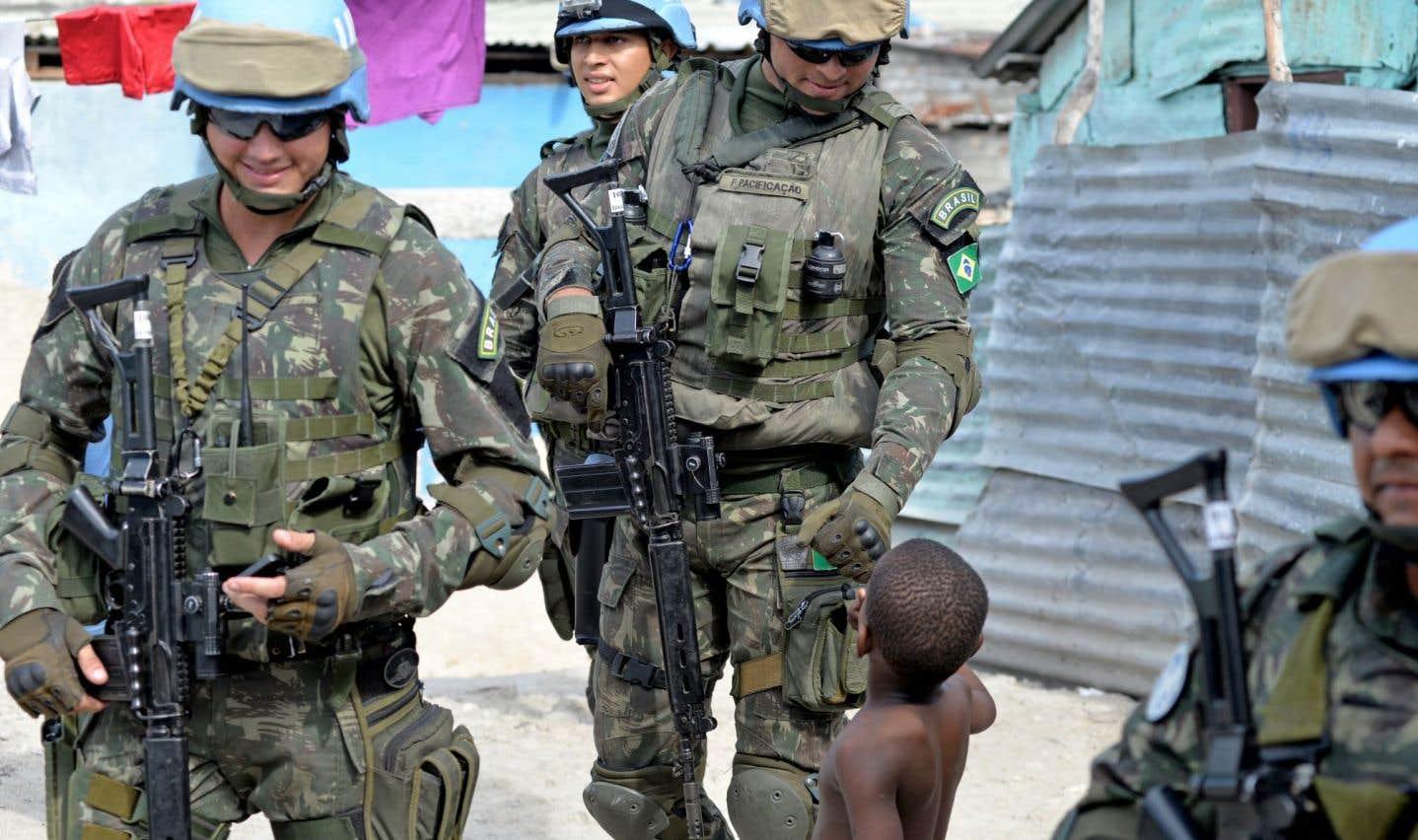 L'ONU mettra un terme  à la mission des Casques bleus d'ici six mois