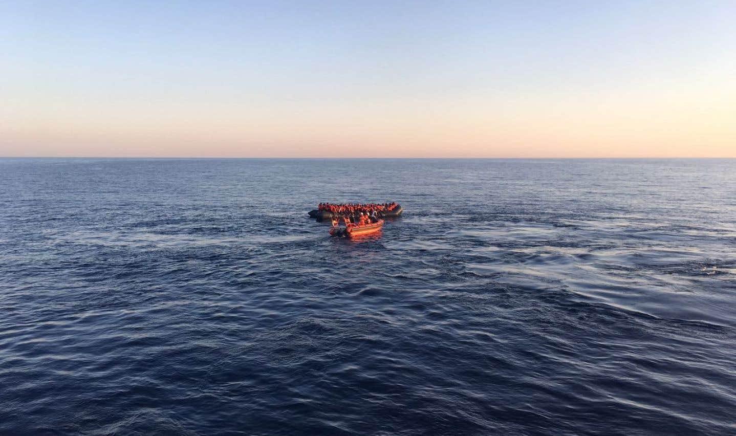 Plus de 2000 migrants sauvés au large de la Libye