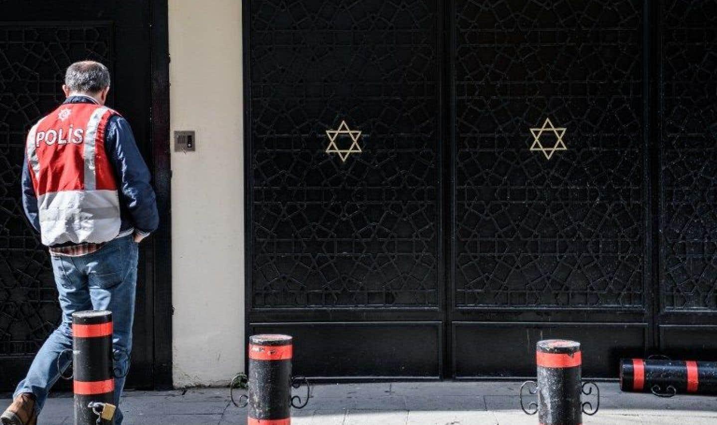 Les agressions ciblant particulièrement les juifs, le vandalisme et d'autres incidents violents ont reculé de 12% l'an dernier.