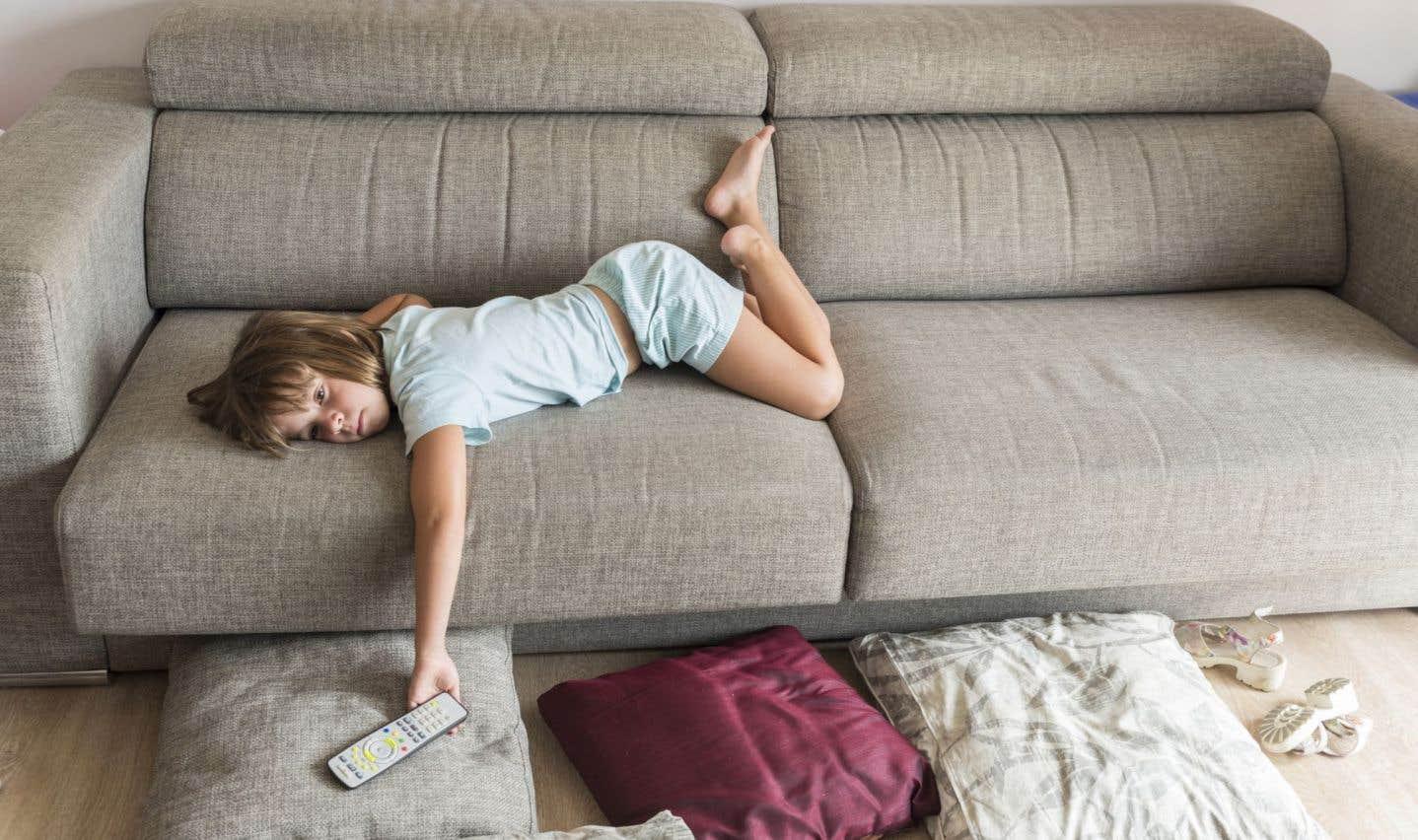 Le risque d'obésité est encore plus élevé chez les enfants dont l'heure de coucher est inconstante.
