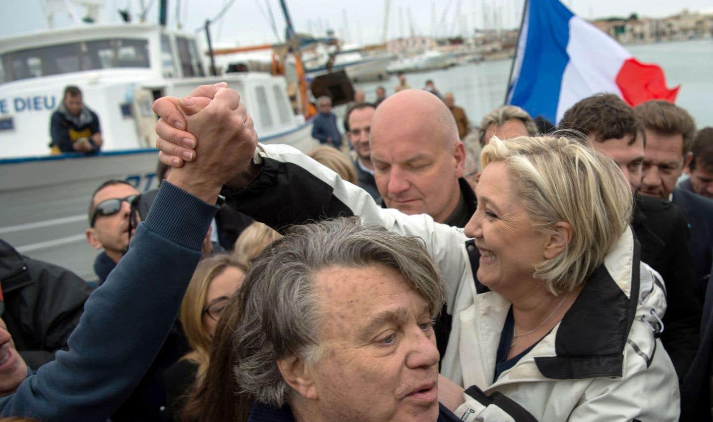 Le Pen avec les pêcheurs, Macron dans les banlieues