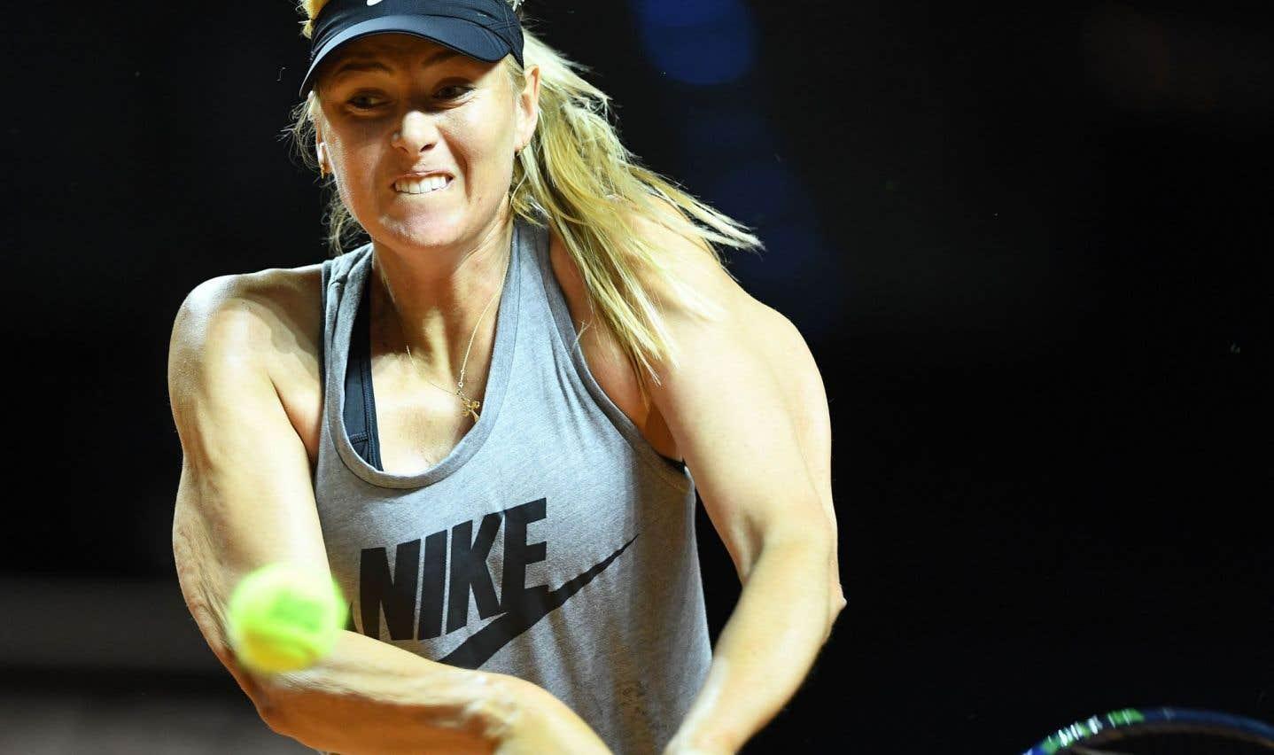 Sharapova devrait être bannie à vie du tennis, croit Bouchard