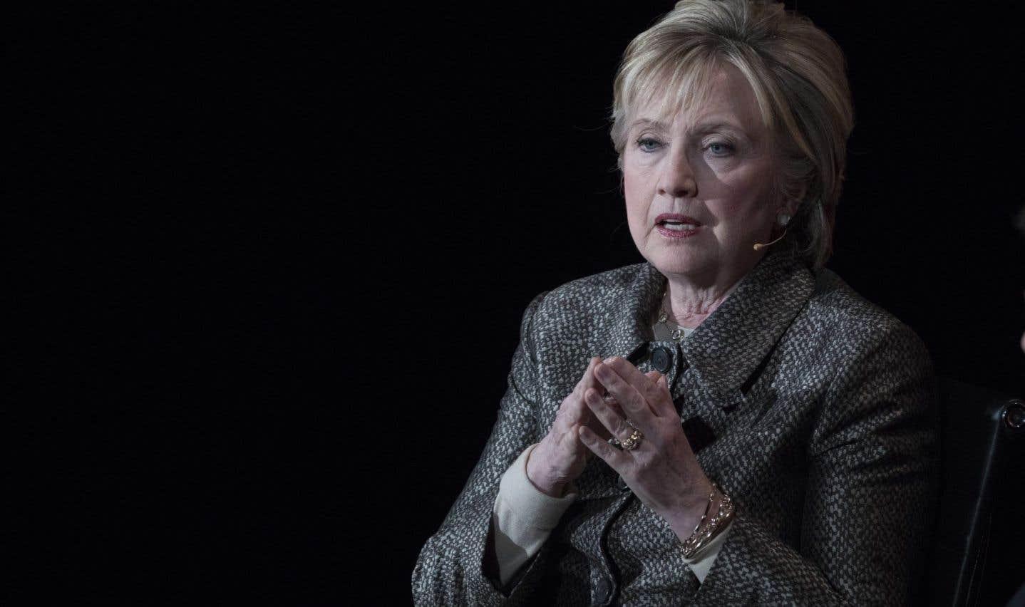L'ancienne candidate démocrate à la Maison-Blanche Hillary Clinton