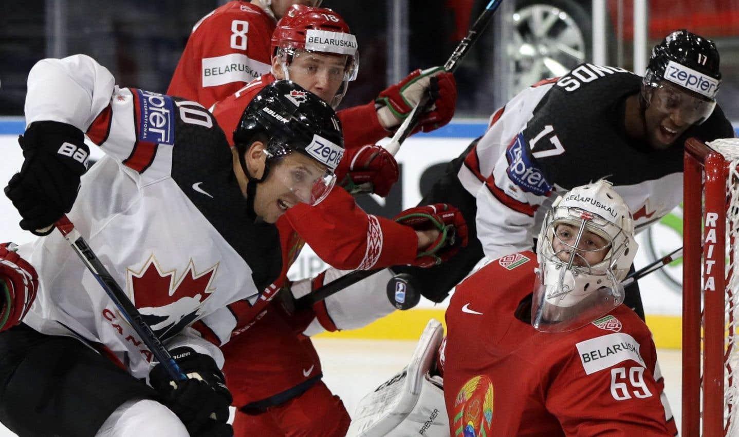 Le Canada écrase le Bélarus 6-0 au Championnat du monde de hockey