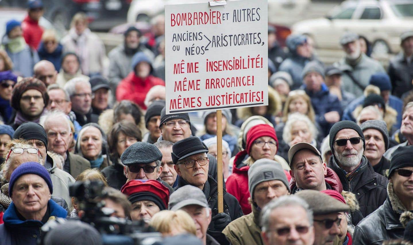 Les salaires des patrons de Bombardier feront de nouveau réagir