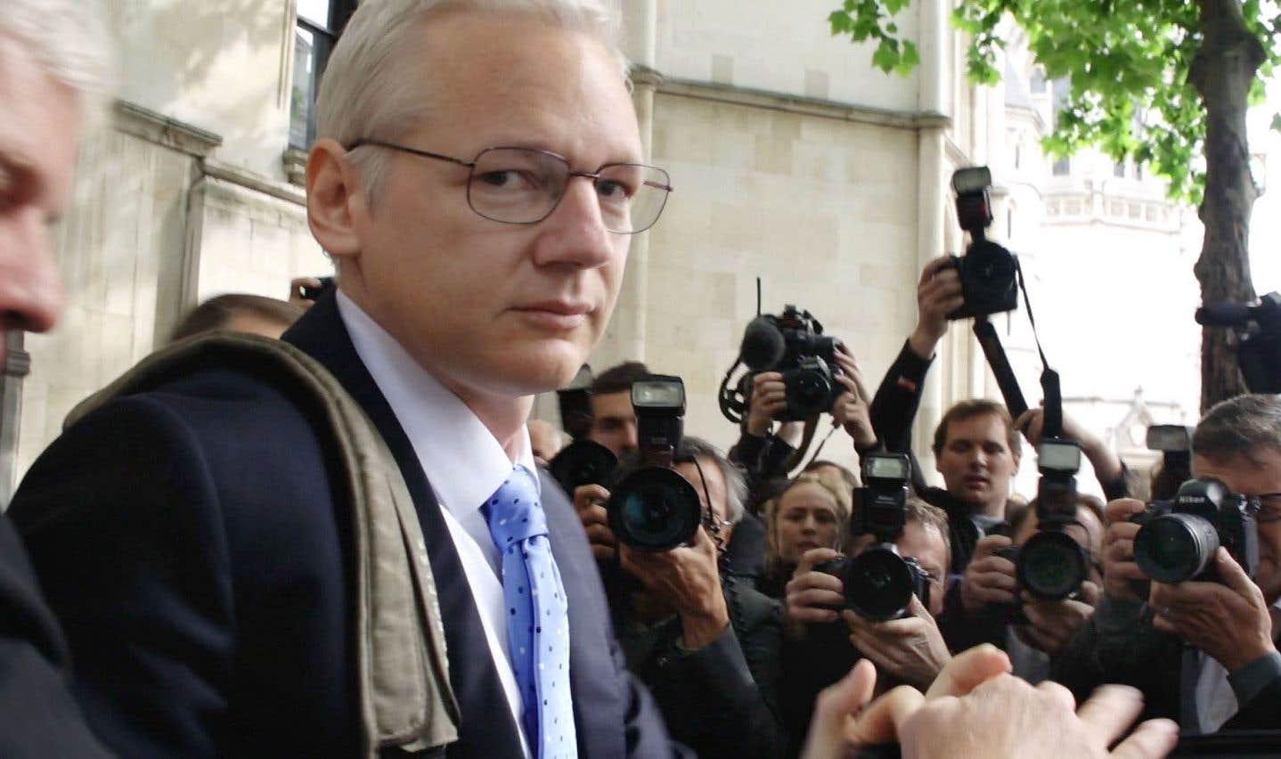 Julian Assange, le risque de la réalisatrice Laura Poitras