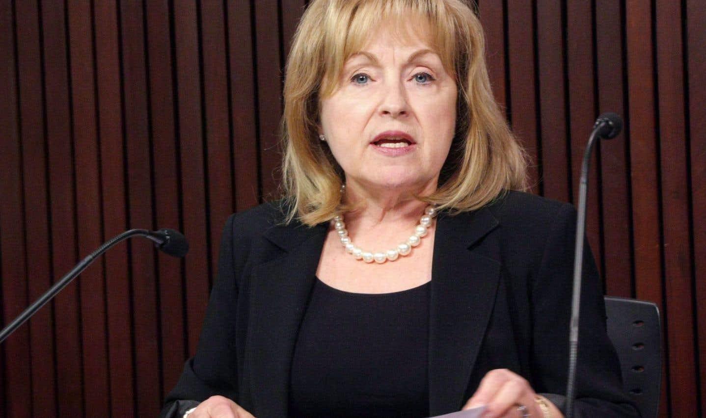 Madeleine Meilleur sera la prochaine commissaire aux langues officielles