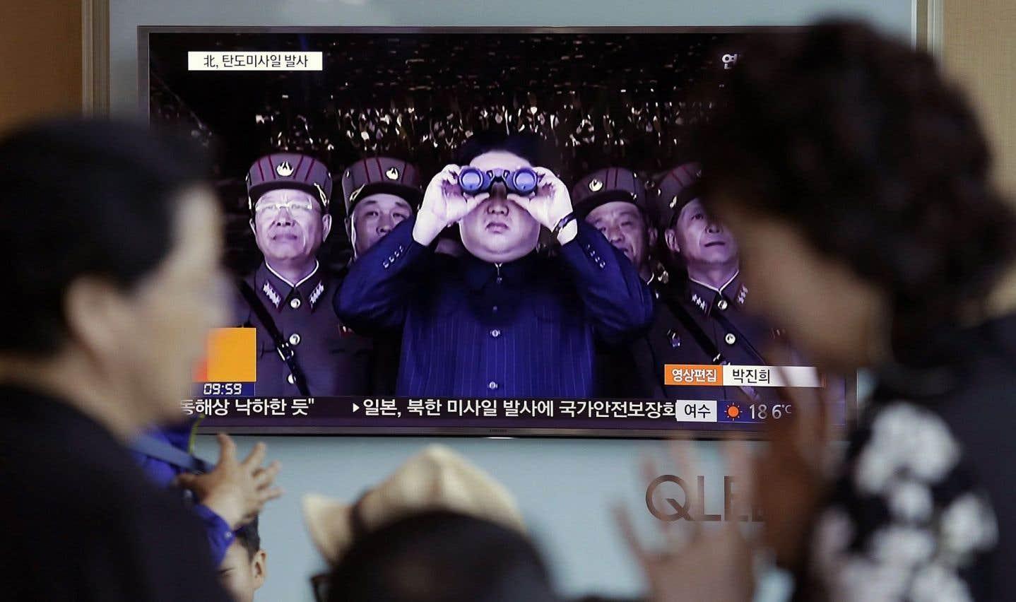 Pyongyang tire de nouveau