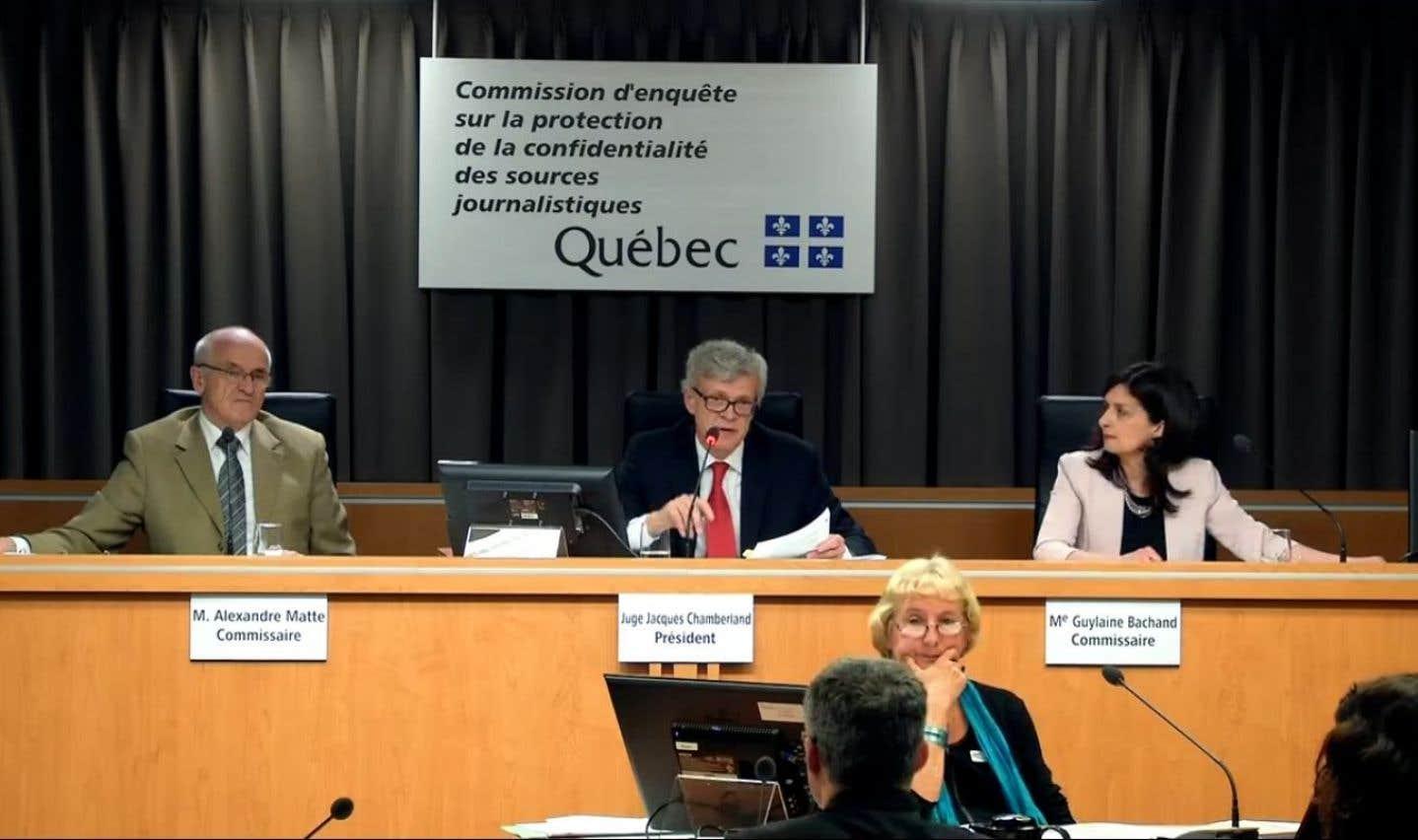 Commission Chamberland: le SPVM a surveillé les échanges de courriels de sept journalistes