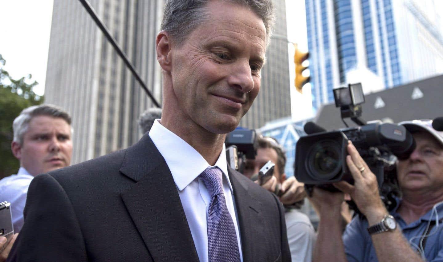 La commissaire aux conflits d'intérêts a conclu que Nigel Wright avait enfreint la Loi en tentant de convaincre le Parti conservateur de rembourser les frais de logement de Mike Duffy.