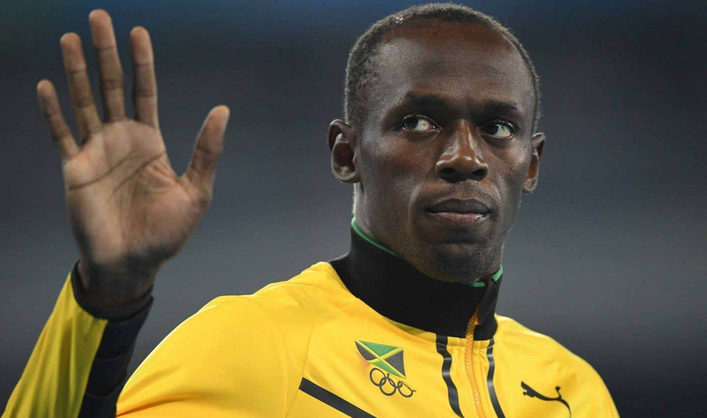 L'octuple champion olympique Usain Bolt