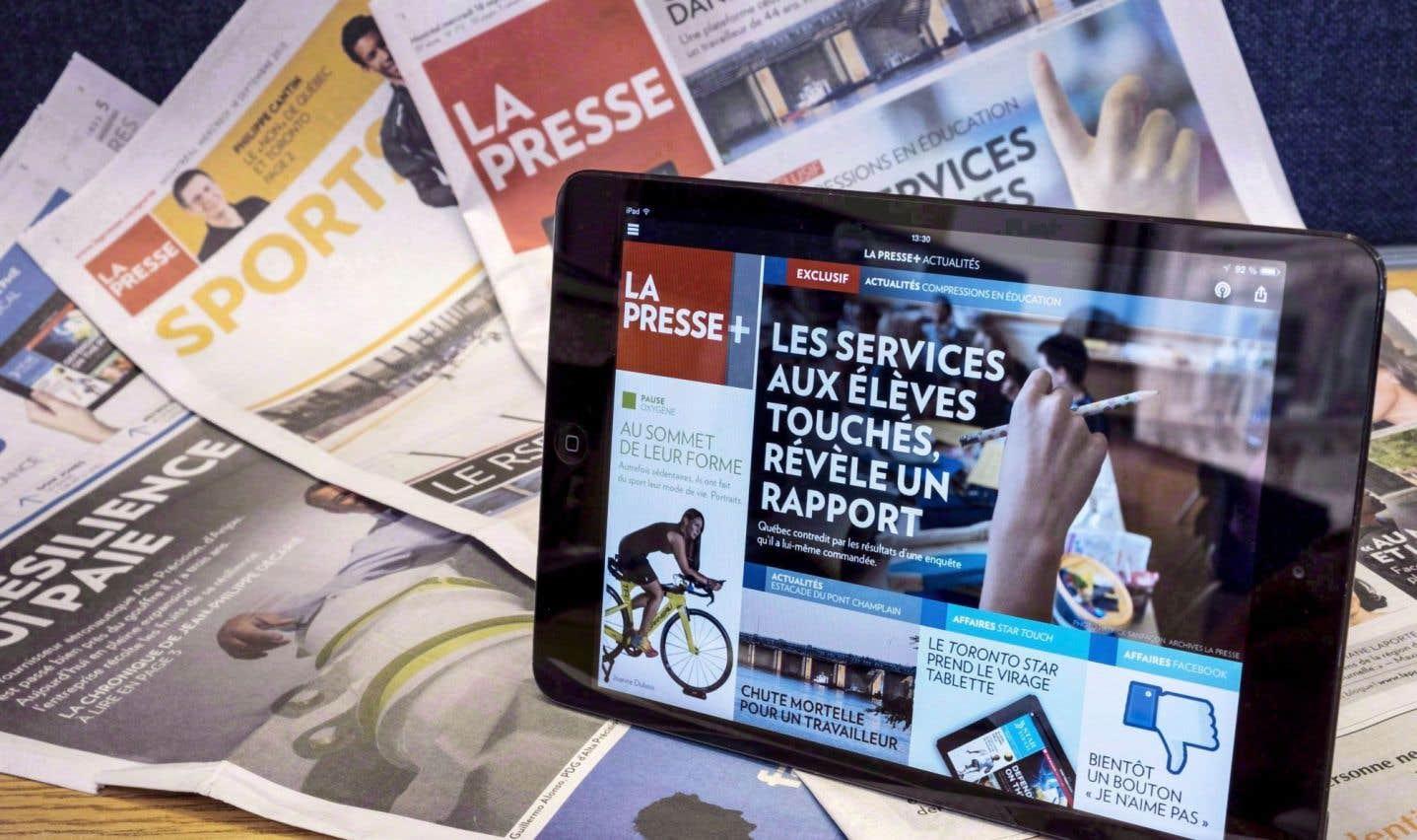 «La Presse» sera 100% numérique le 30décembre