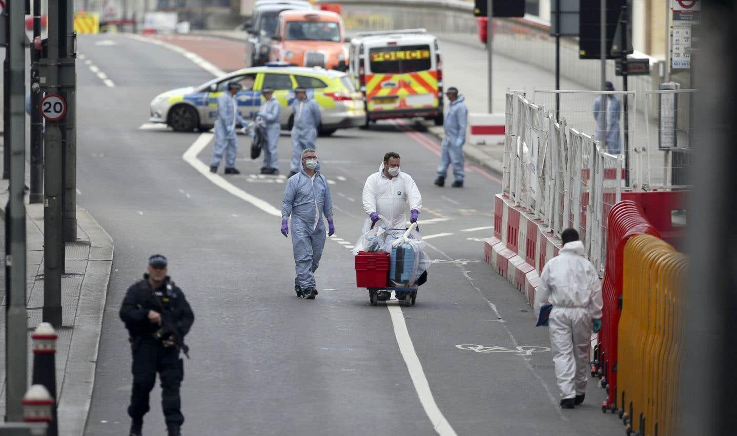 Attentat de Londres: «Assez, c'est assez», lance la première ministre britannique