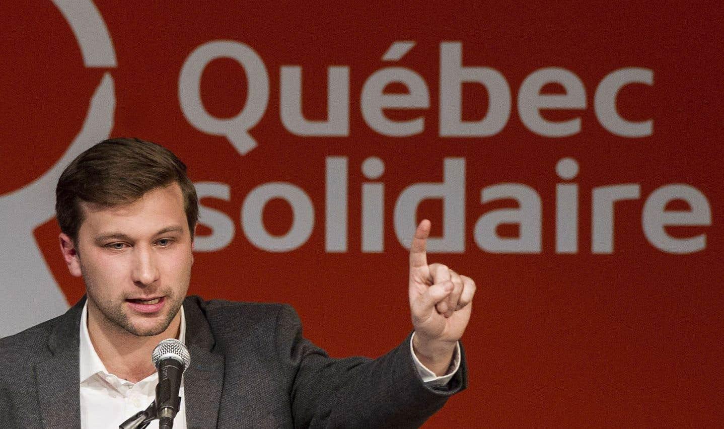 Gabriel Nadeau-Dubois promet de continuer de «déranger» comme député