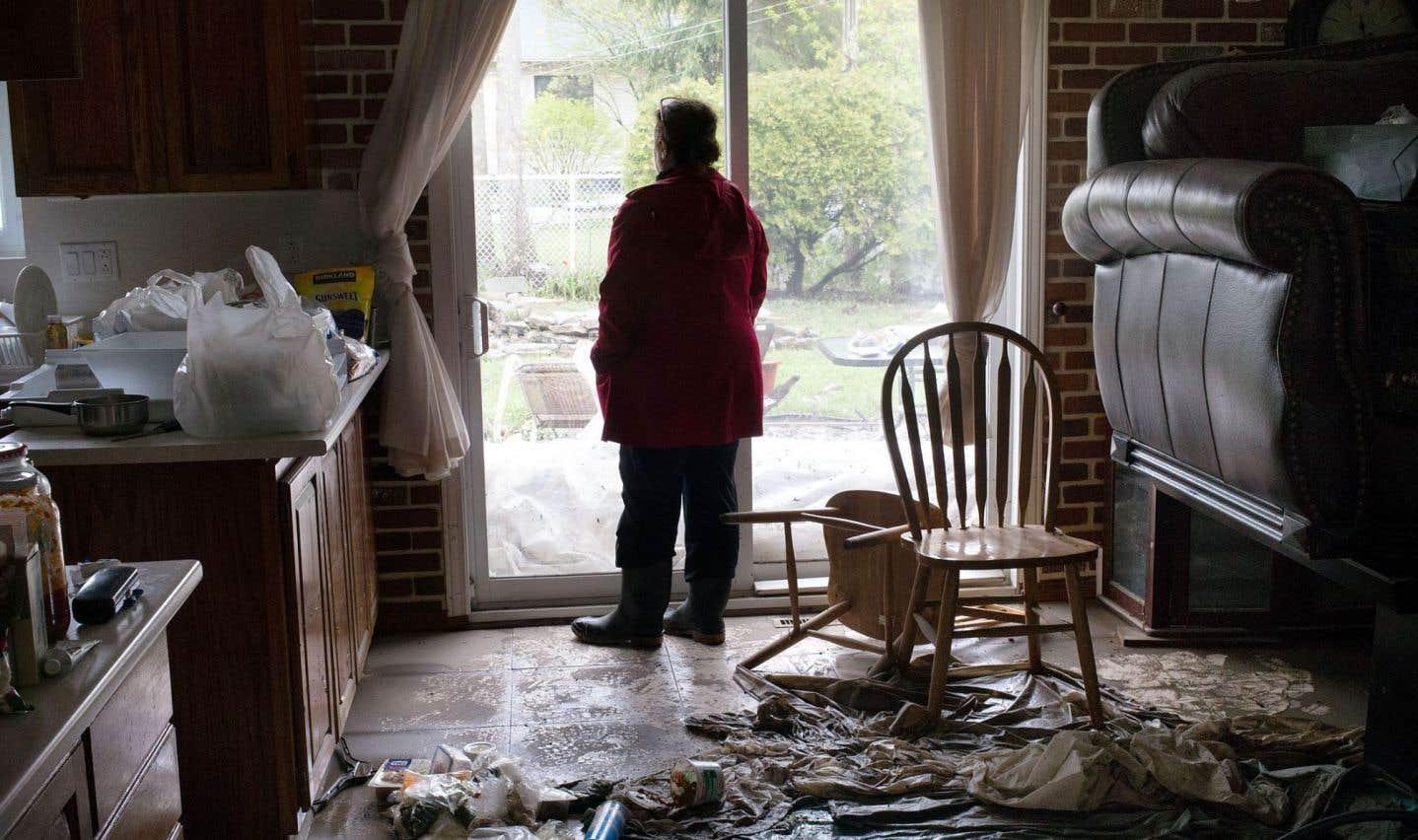 Les sinistrés risquent des problèmes de santé mentale à long terme, signale le Directeur de santé publique de Montréal.