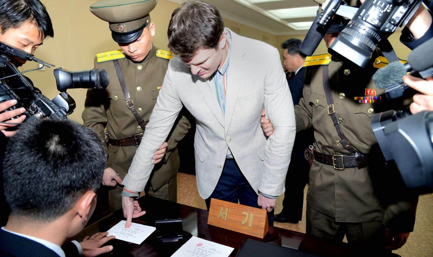 Un étudiant américain libéré en Corée du Nord
