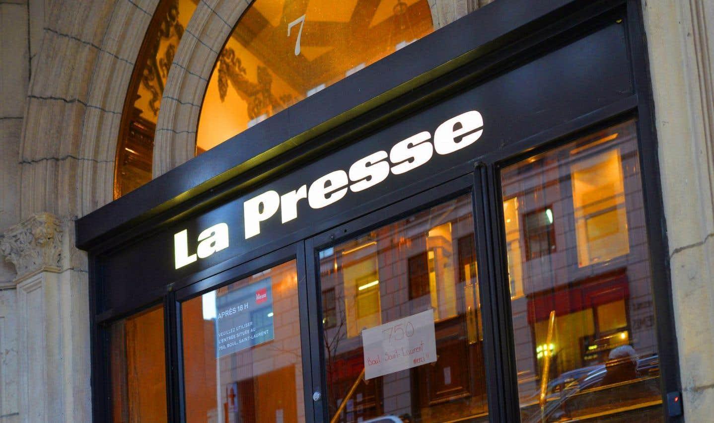 Négociations difficiles à «La Presse»