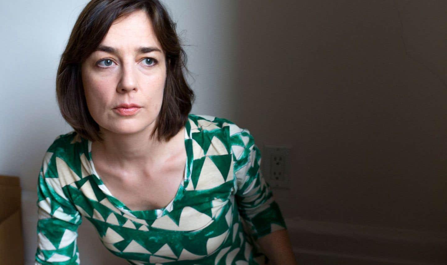 La poète Maggie Roussel