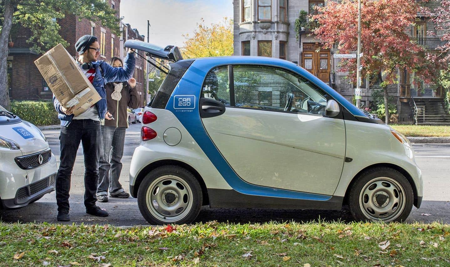 Pour les acteurs de l'industrie de l'autopartage — comme Car2go — la voiture autonome permettrait de rejoindre de nouveaux adeptes. Selon une vaste étude, chaque voiture partagée permet d'enlever de 7 à 11 voitures sur les routes.