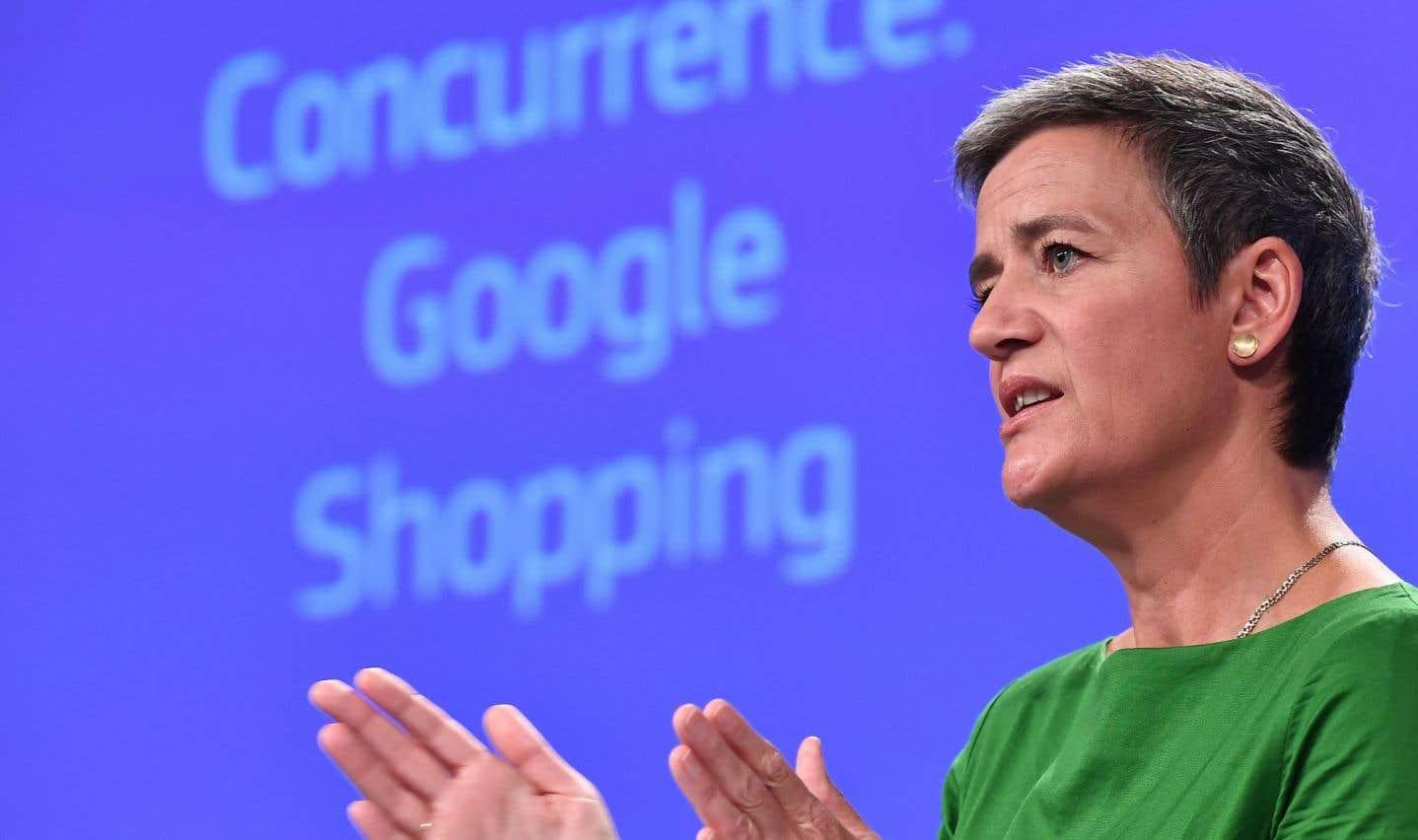 L'UE inflige une amende record de 2,42milliards d'euros à Google
