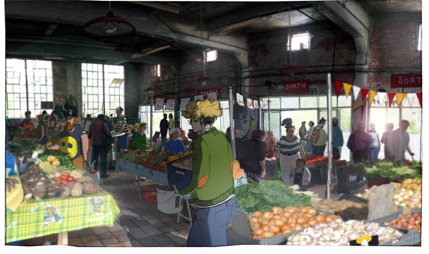 Le Bâtiment 7, fabrique d'autonomie alimentaire collective