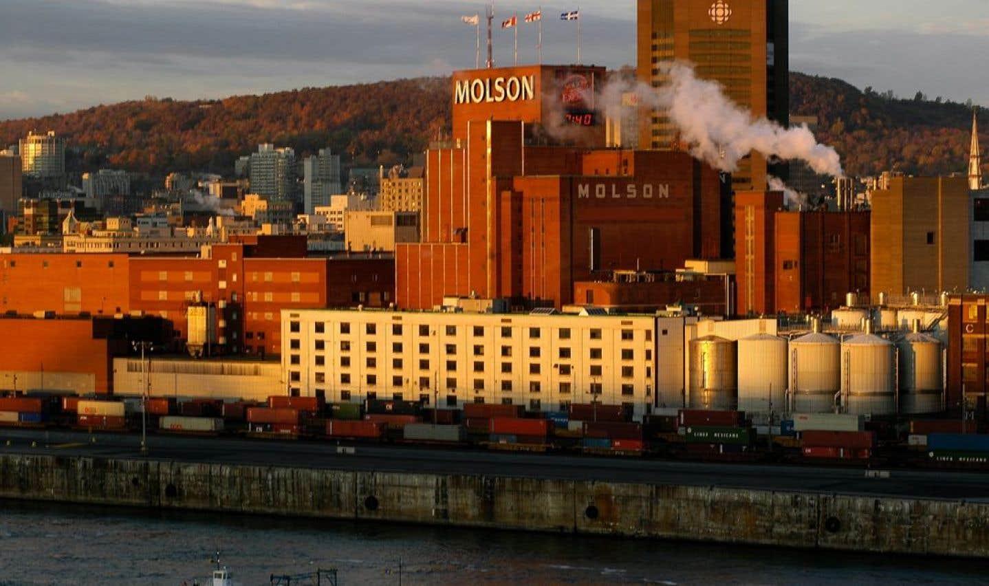 Le brasserie Molson Coors du Vieux-Montréal