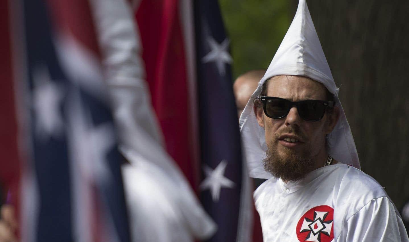 Le Ku Klux Klan veut préserver un monument confédéré en Virginie