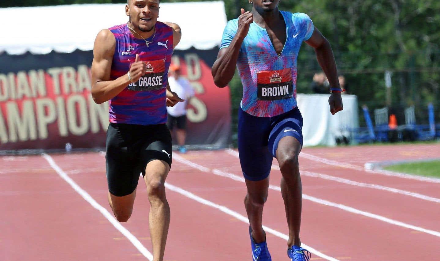 De Grasse obtient un 2etitre national aux Championnats canadiens d'athlétisme
